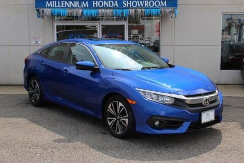 2017 Honda Civic for sale at MILLENNIUM HONDA in Hempstead NY