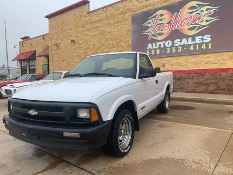 1996 Chevrolet S-10 for sale at VanHoozer Auto Sales in Lawton OK