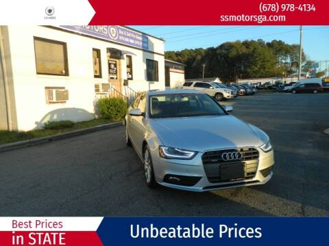 2013 Audi A4 for sale at S & S Motors in Marietta GA