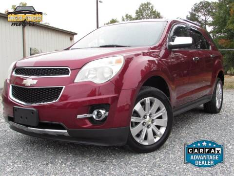 2011 Chevrolet Equinox for sale at High-Thom Motors in Thomasville NC
