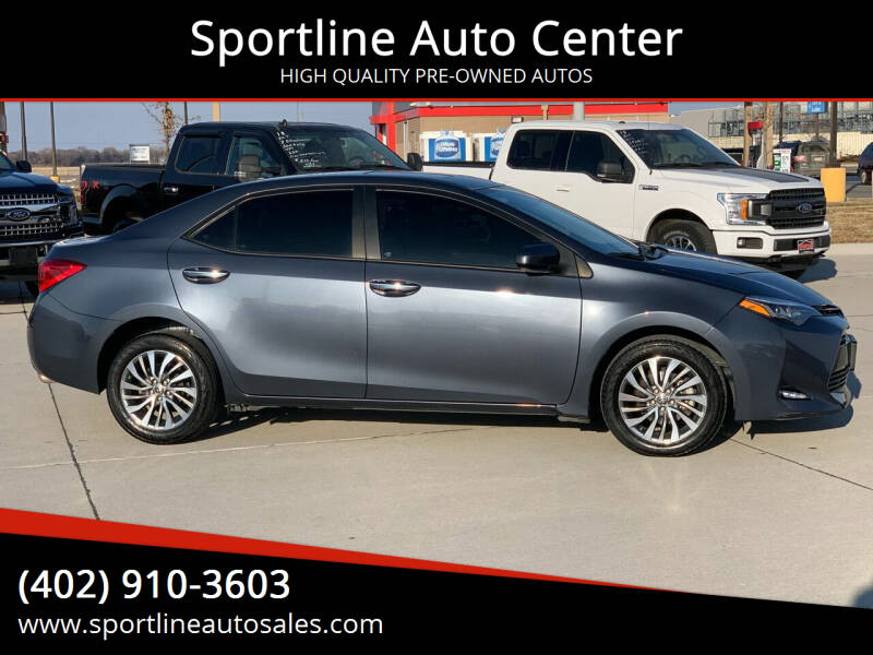 2017 Toyota Corolla for sale at Sportline Auto Center in Columbus NE