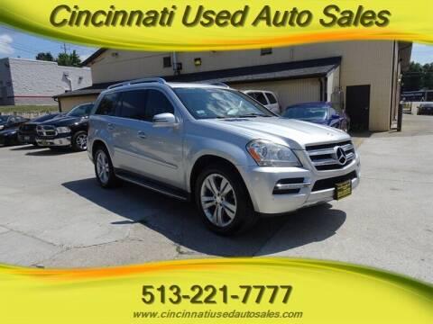 2011 Mercedes-Benz GL-Class for sale at Cincinnati Used Auto Sales in Cincinnati OH