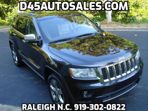 2012 Jeep Grand Cherokee for sale at D45 Auto Brokers in Raleigh NC