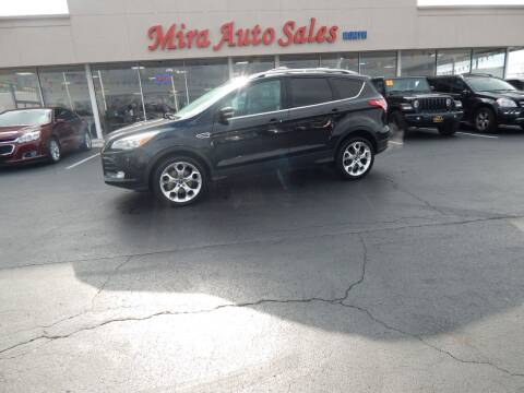 2013 Ford Escape for sale at Mira Auto Sales in Dayton OH