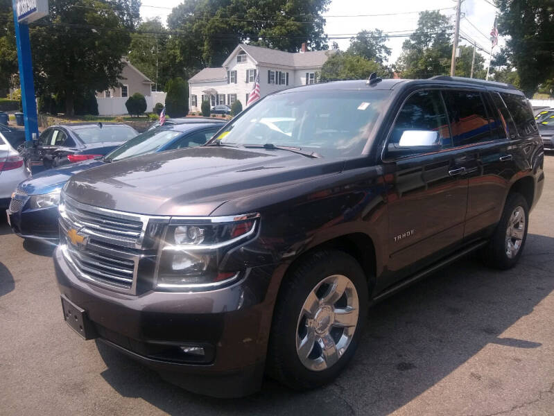 2016 Chevrolet Tahoe for sale at Washington Street Auto Sales in Canton MA