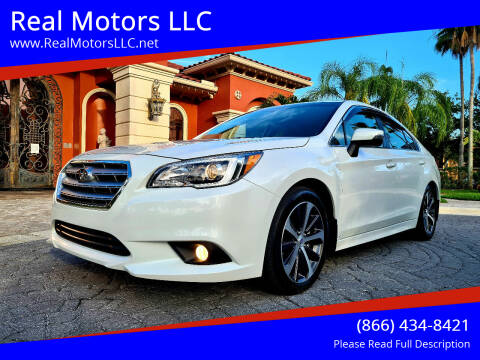 2016 Subaru Legacy for sale at Real Motors LLC in Clearwater FL