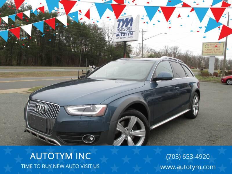 2016 Audi Allroad for sale at AUTOTYM INC in Fredericksburg VA