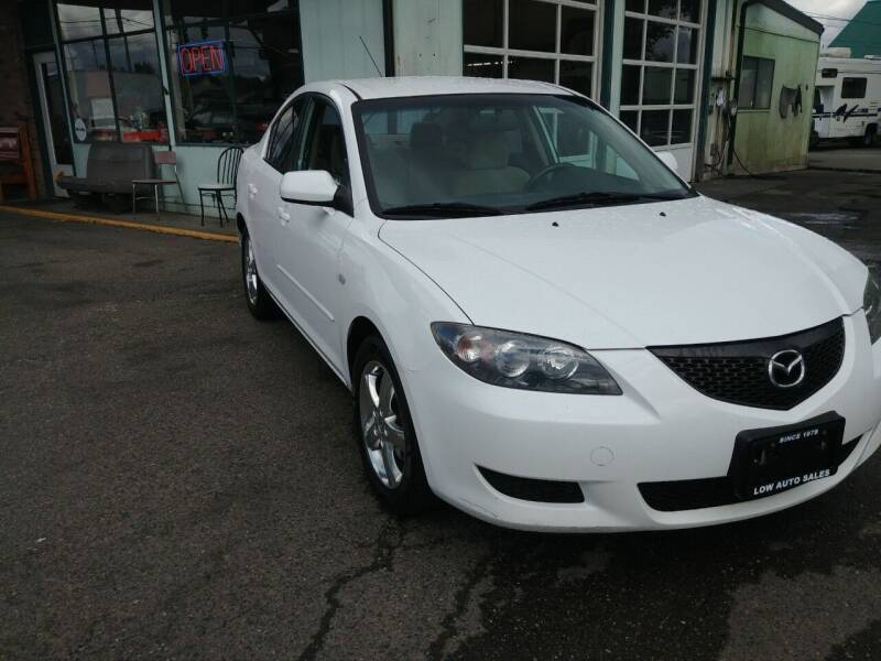 2004 Mazda MAZDA3 for sale at Low Auto Sales in Sedro Woolley WA