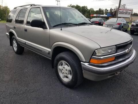 2000 Chevrolet Blazer for sale at Arcia Services LLC in Chittenango NY