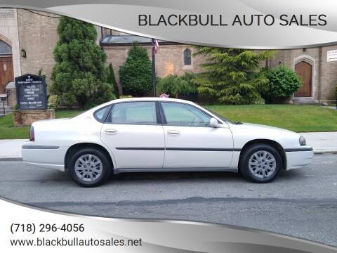 2004 Chevrolet Impala for sale at Blackbull Auto Sales in Ozone Park NY