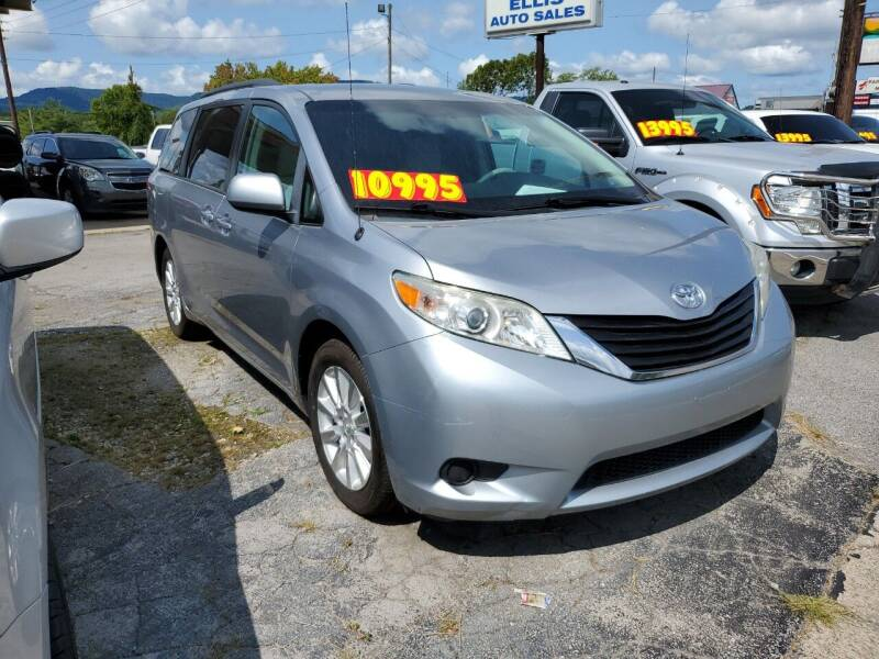 2011 Toyota Sienna for sale at Ellis Auto Sales and Service in Middlesboro KY