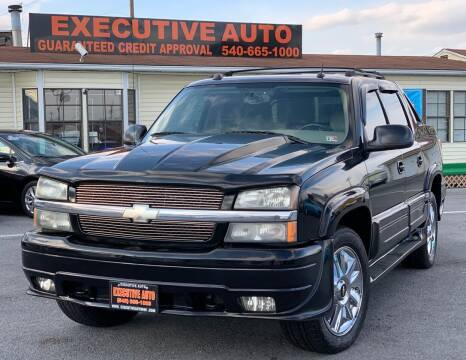 2005 Chevrolet Avalanche for sale at Executive Auto in Winchester VA