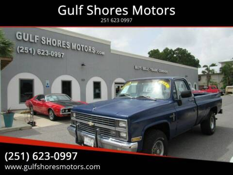 1983 Chevrolet C/K 10 Series for sale at Gulf Shores Motors in Gulf Shores AL