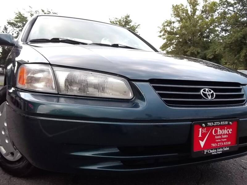 1998 Toyota Camry for sale at 1st Choice Auto Sales in Fairfax VA