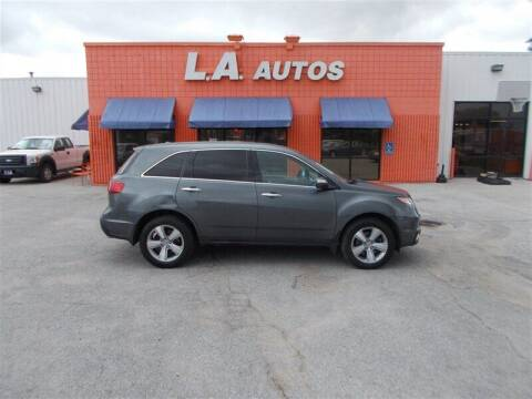 2010 Acura MDX for sale at L A AUTOS in Omaha NE