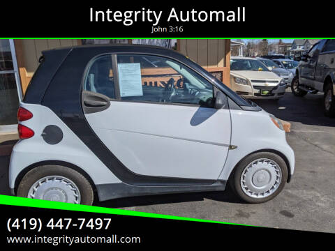 2009 Smart fortwo for sale at Integrity Automall in Tiffin OH