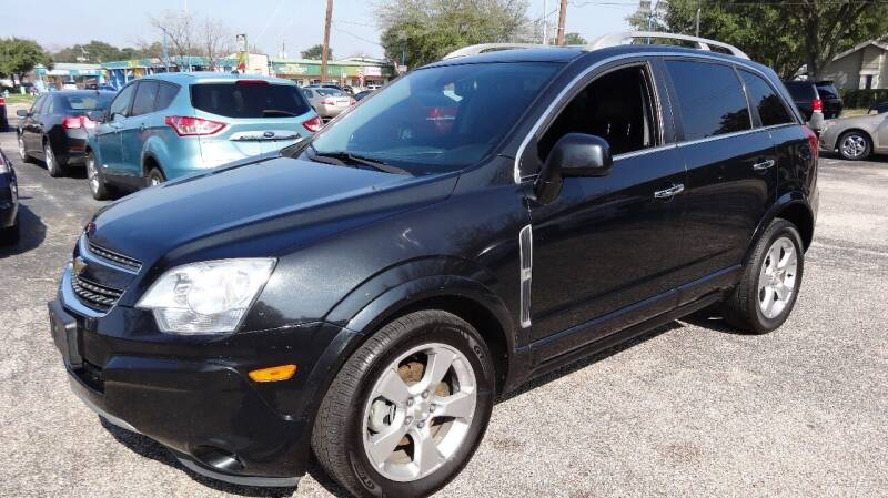 2014 Chevrolet Captiva Sport for sale at HOUSTON'S BEST AUTO SALES in Houston TX