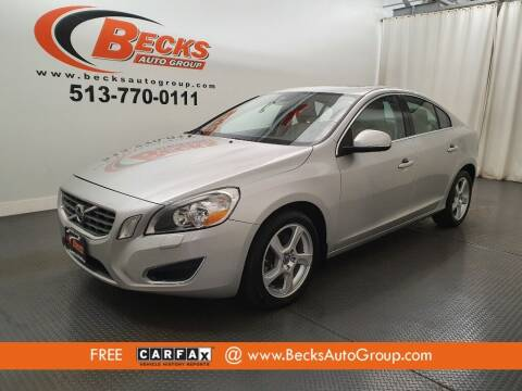 2012 Volvo S60 for sale at Becks Auto Group in Mason OH