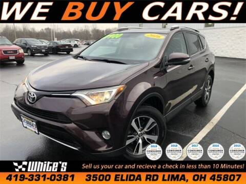 2016 Toyota RAV4 for sale at White's Honda Toyota of Lima in Lima OH