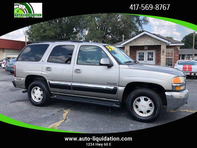 2002 GMC Yukon for sale at Auto Liquidation in Springfield MO