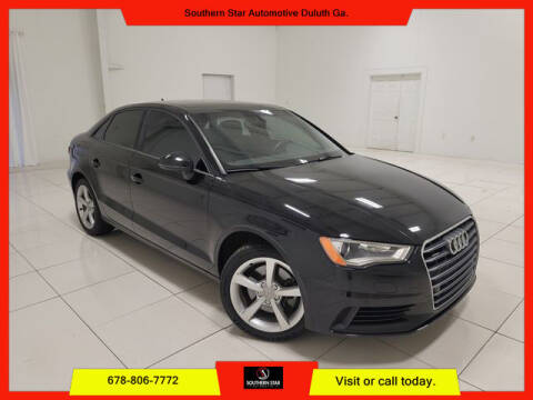 2016 Audi A3 for sale at Southern Star Automotive, Inc. in Duluth GA