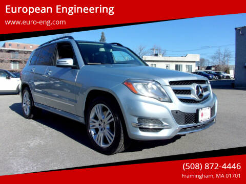 2015 Mercedes-Benz GLK for sale at European Engineering in Framingham MA