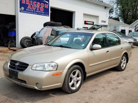2000 Nissan Maxima for sale at Ericson Auto in Ankeny IA