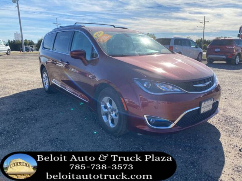 2017 Chrysler Pacifica for sale at BELOIT AUTO & TRUCK PLAZA INC in Beloit KS