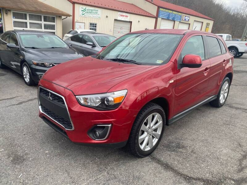 2015 Mitsubishi Outlander Sport for sale at THE AUTOMOTIVE CONNECTION in Atkins VA