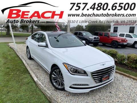 2017 Genesis G80 for sale at Beach Auto Brokers in Norfolk VA