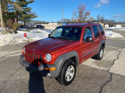 2002 Jeep Liberty for sale at JE Autoworks LLC in Willoughby OH