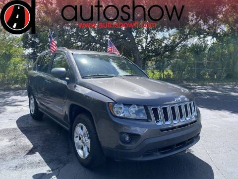 2015 Jeep Compass for sale at AUTOSHOW SALES & SERVICE in Plantation FL