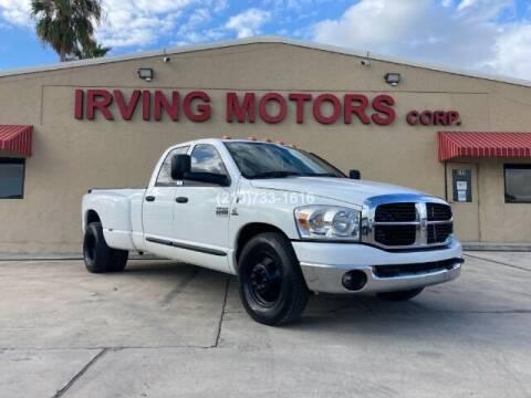 2007 Dodge Ram Pickup 3500 for sale at Irving Motors Corp in San Antonio TX