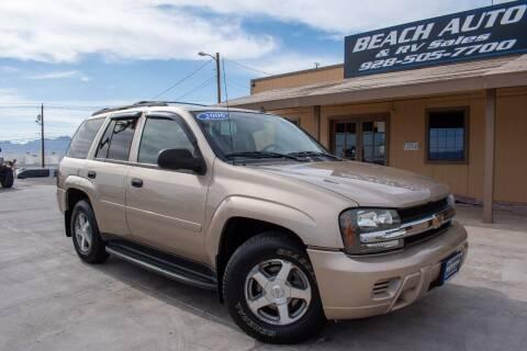 2006 Chevrolet TrailBlazer for sale at Beach Auto and RV Sales in Lake Havasu City AZ