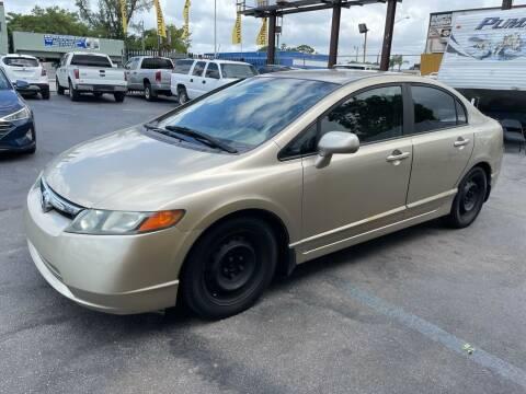 2008 Honda Civic for sale at AUTO ALLIANCE LLC in Miami FL