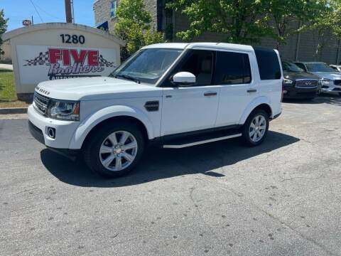 2016 Land Rover LR4 for sale at Five Brothers Auto Sales in Roswell GA