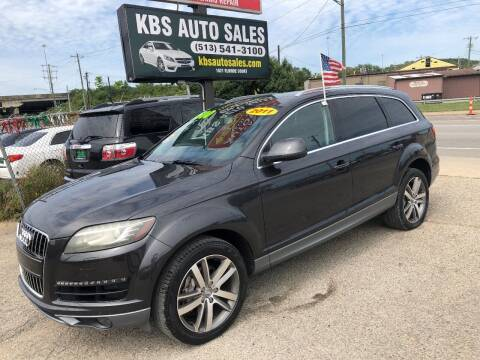 2011 Audi Q7 for sale at KBS Auto Sales in Cincinnati OH