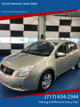 2008 Nissan Sentra for sale at South Hanover Auto Sales in Hanover PA