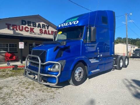 2015 Volvo VNL for sale at DEBARY TRUCK SALES in Sanford FL