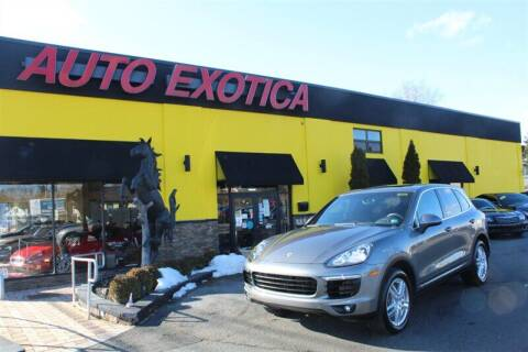 2015 Porsche Cayenne for sale at Auto Exotica in Red Bank NJ