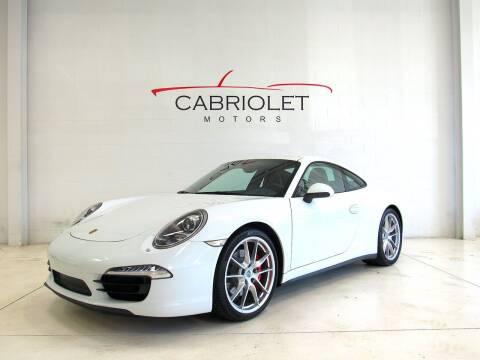 2013 Porsche 911 for sale at Cabriolet Motors in Morrisville NC