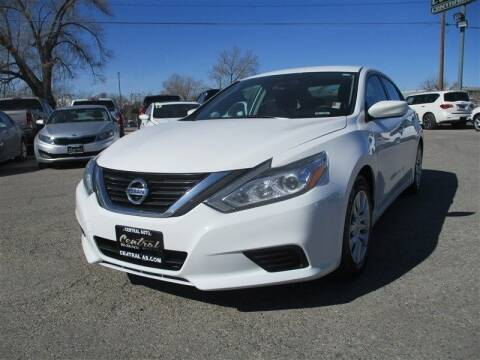 2016 Nissan Altima for sale at Central Auto in South Salt Lake UT