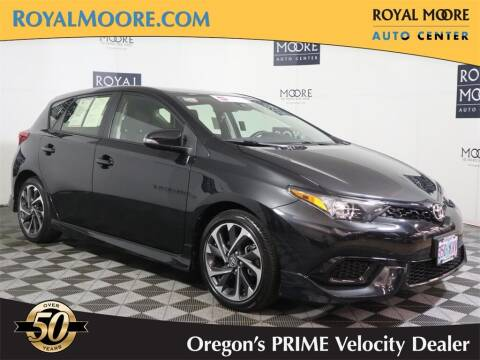 2018 Toyota Corolla iM for sale at Royal Moore Custom Finance in Hillsboro OR