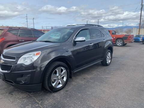 2015 Chevrolet Equinox for sale at Robert B Gibson Auto Sales INC in Albuquerque NM