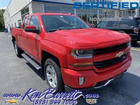 2018 Chevrolet Silverado 1500 for sale at KEN BARRETT CHEVROLET CADILLAC in Batavia NY