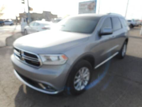 2015 Dodge Durango for sale at AUGE'S SALES AND SERVICE in Belen NM