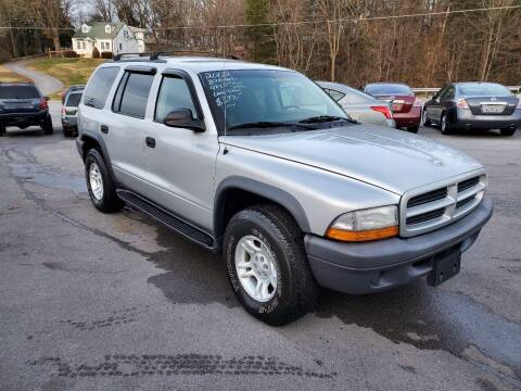 2003 Dodge Durango for sale at DISCOUNT AUTO SALES in Johnson City TN
