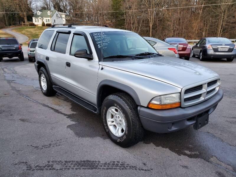 2003 Dodge Durango for sale at DISCOUNT AUTO SALES in Johnson City TN