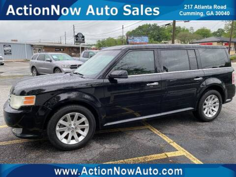 2009 Ford Flex for sale at ACTION NOW AUTO SALES in Cumming GA