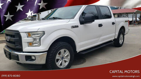 2015 Ford F-150 for sale at Capital Motors in Raleigh NC